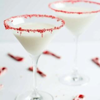 Peppermint Marshmallow Martini