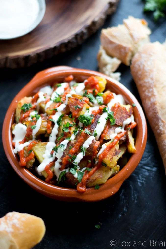 Patatas Bravas Recipe - Fox and Briar