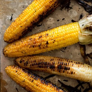 Charred Grilled Corn