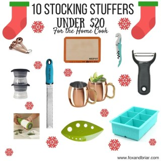 10 Stocking Stuffers under $20 for the home cook