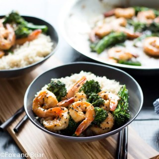 Honey Sesame Shrimp and Broccoli (8 of 8)