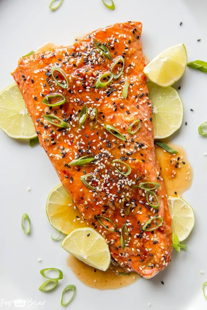 Chili Garlic Salmon