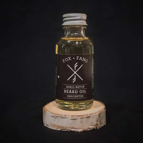 Unscented Beard Oil - Fox + Fang Beard Co.