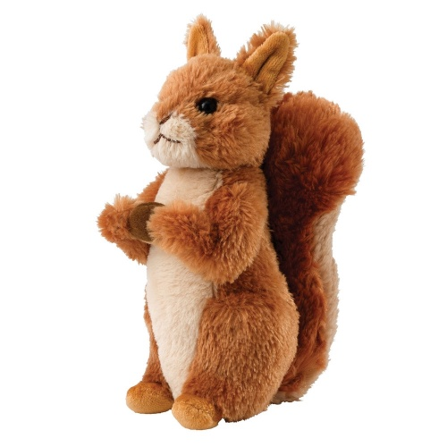 Squirrel Nutkin Soft Toy Beatrix Potter Fox And Lantern