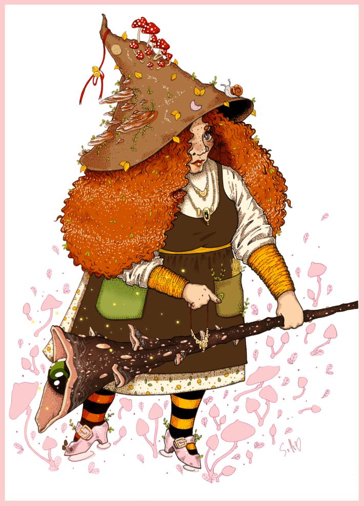Mushroom Witch