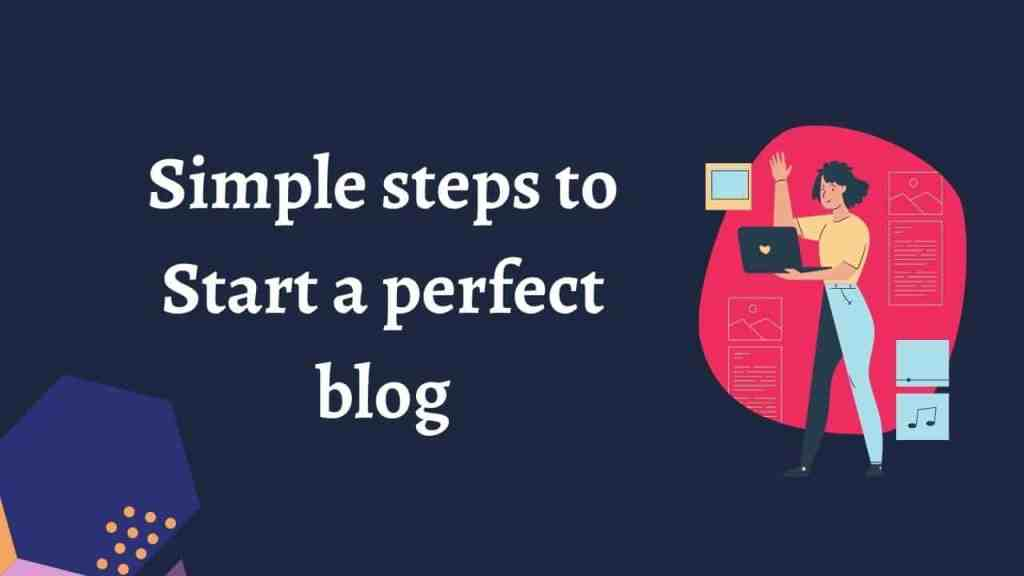 Create and start a profitable blog, in these simple ways