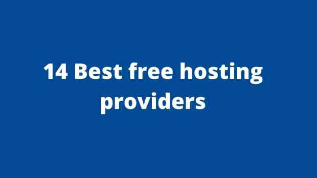 some best free hosting providers