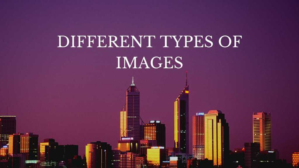 different image types