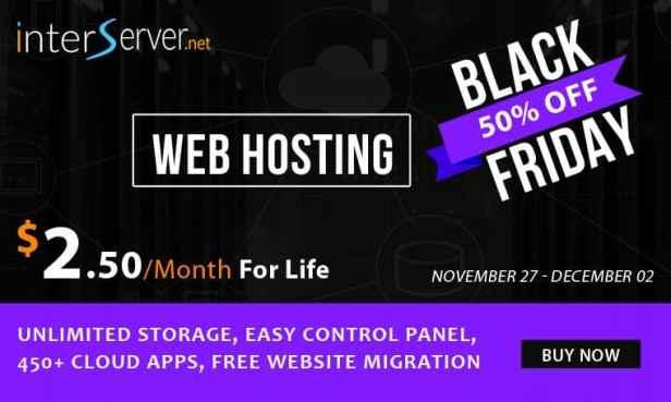 Interserver BlackFriday Deals