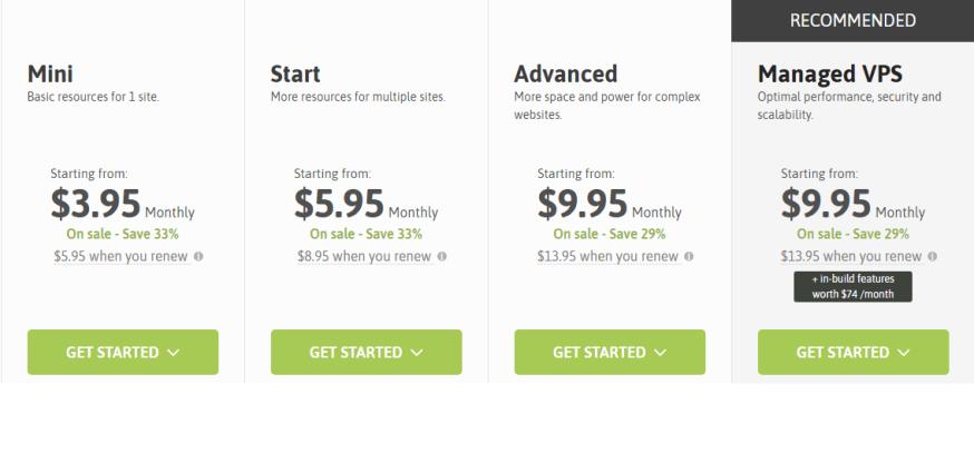 scala hosting pricing