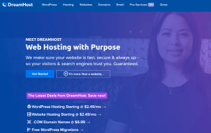 Dreamhost - Affordable and WordPress recommended Webhosting