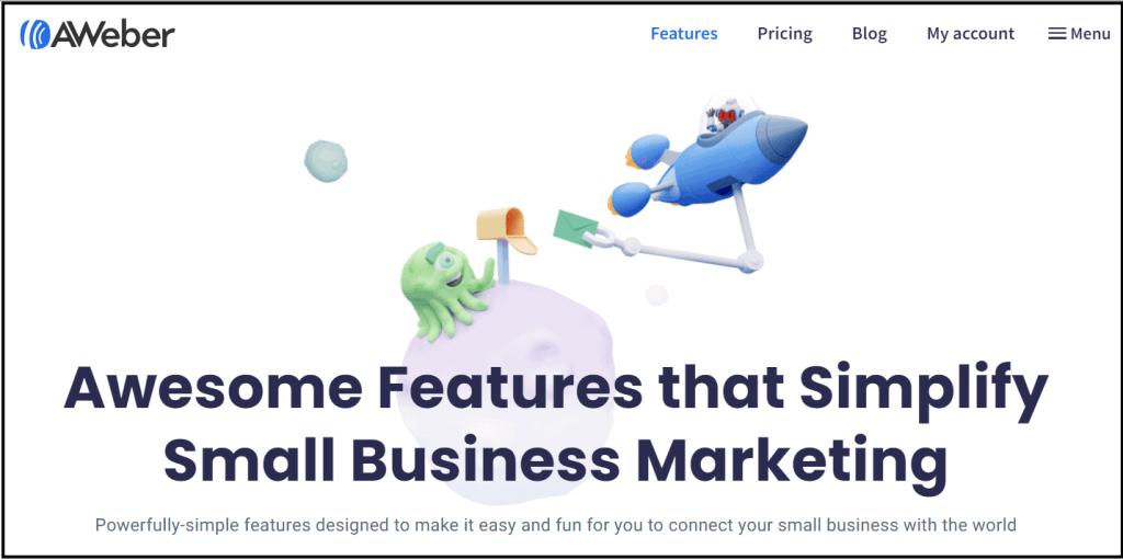 Aweber - Free email marketing software