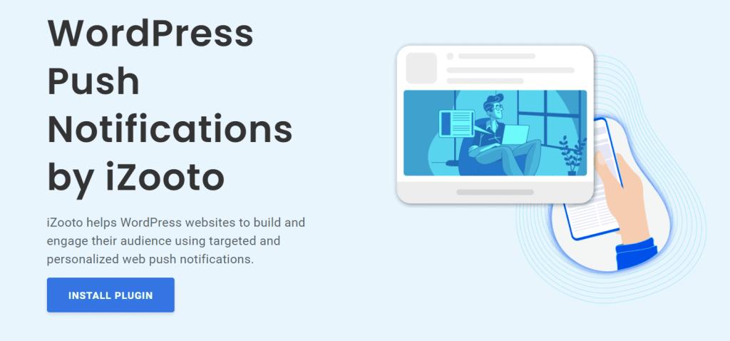 iZooto - WordPress push notification plugin