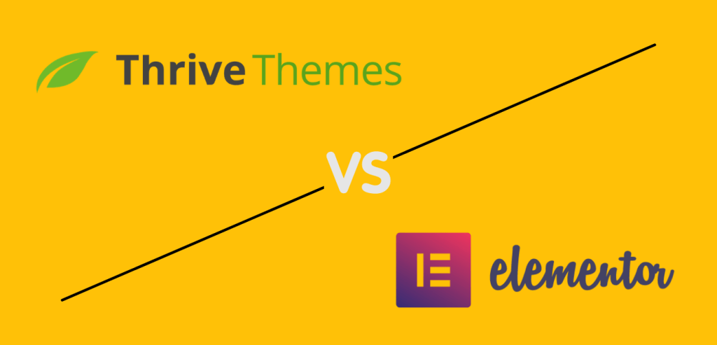 Thrive Architect Vs Elementor Page builder for WordPress