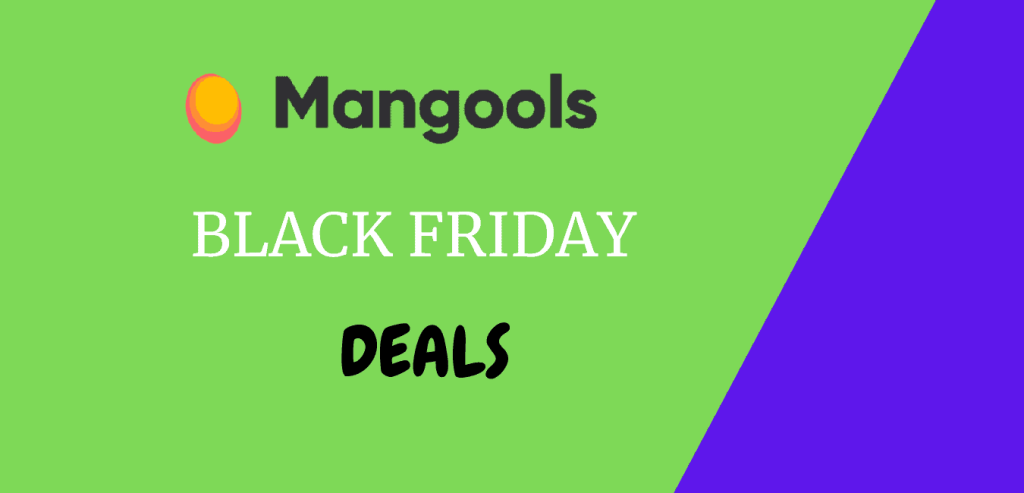 Mangools Black Friday deals and Cyber Monday offer