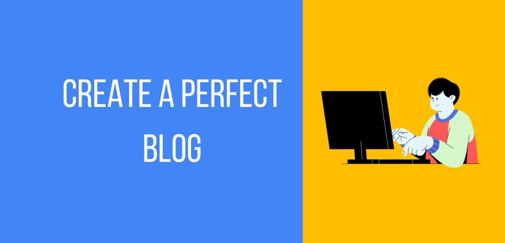 Create and start a profitable blog