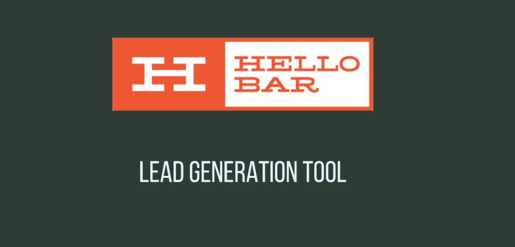 Hello Bar - NotIfication and Lead generation wordpress Plugin