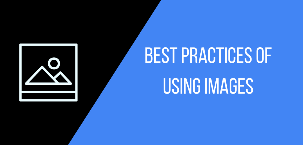 Best practices for using images in a blog pos
