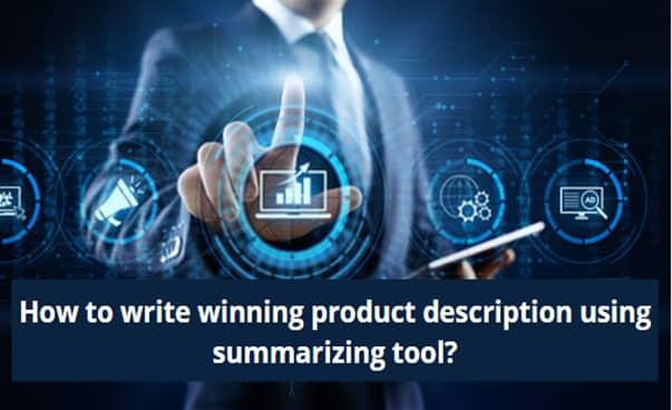 write a winning product description