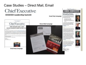 CEO2CEO Direct Mail