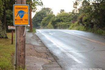 2015 New Jaycee Sign - County Street near Mansfield Line