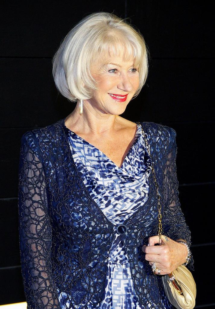 Actress Helen Mirren Appears In Photoshoot For New York