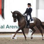 Stage 2 trainer Anna Davey competing Grand Prix