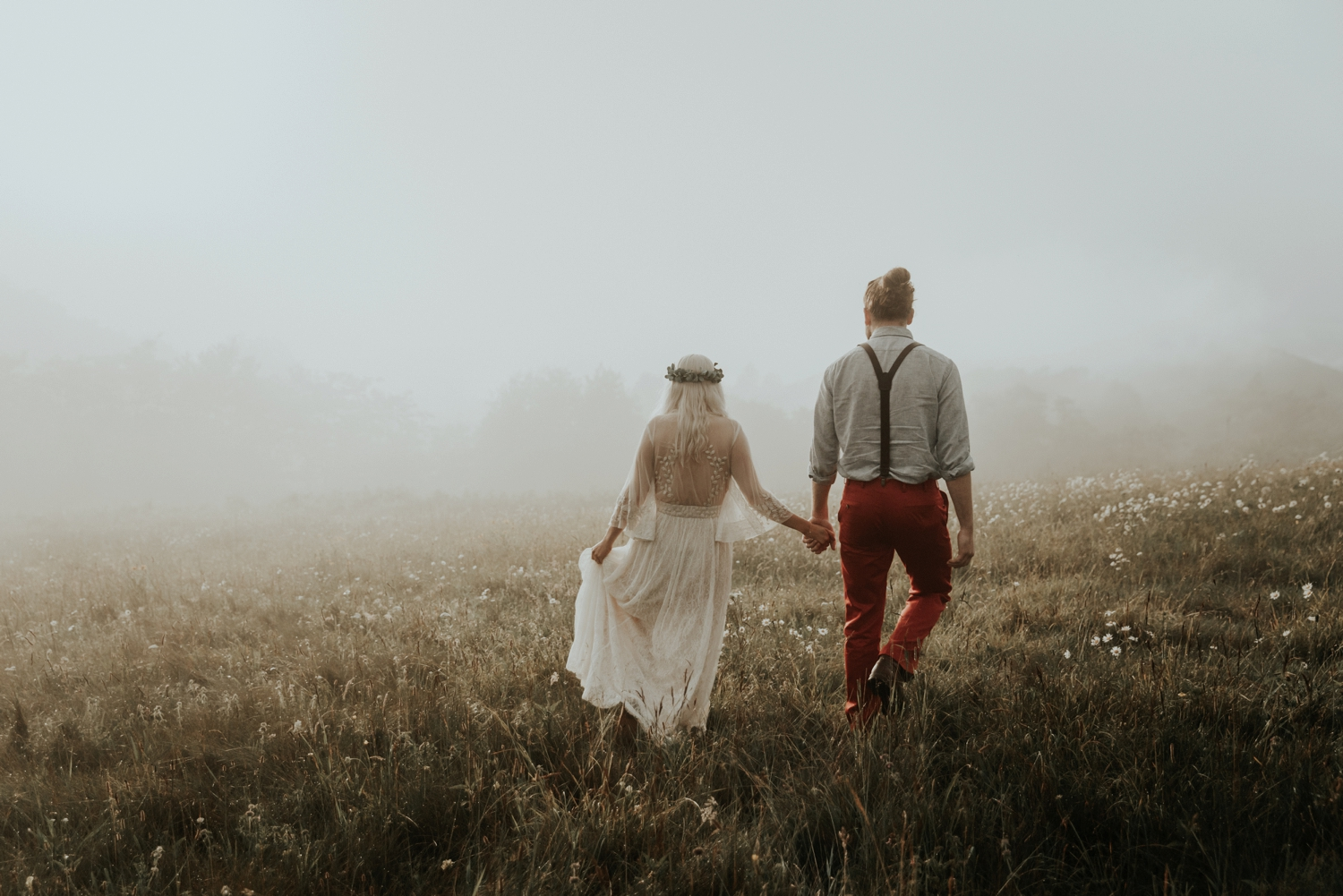 Adventurous North Carolina Engagement Session at Max Patch ...