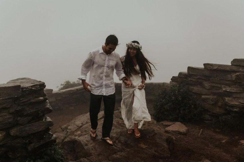 asheville elopement and wedding photographer