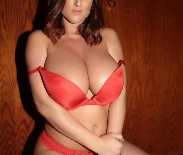 Stacey Poole Red Lingerie Tits And Ass Pinupfiles