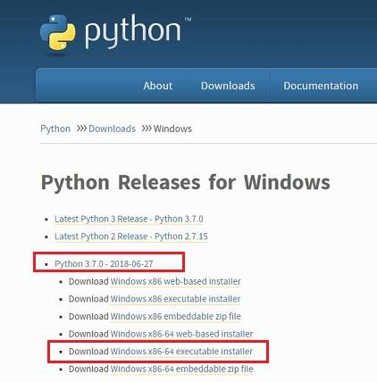 download Python 3.7 for Windows 10