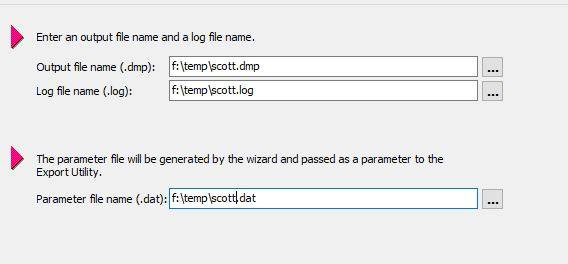 Toad Export Utility Wizard Tutorial