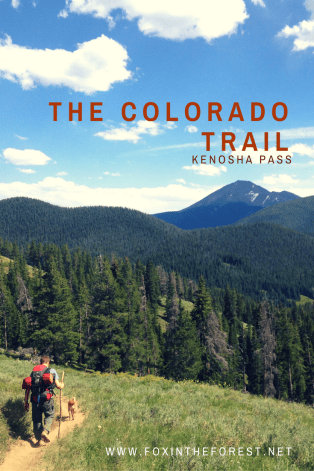 Colorado Trail - Pin me