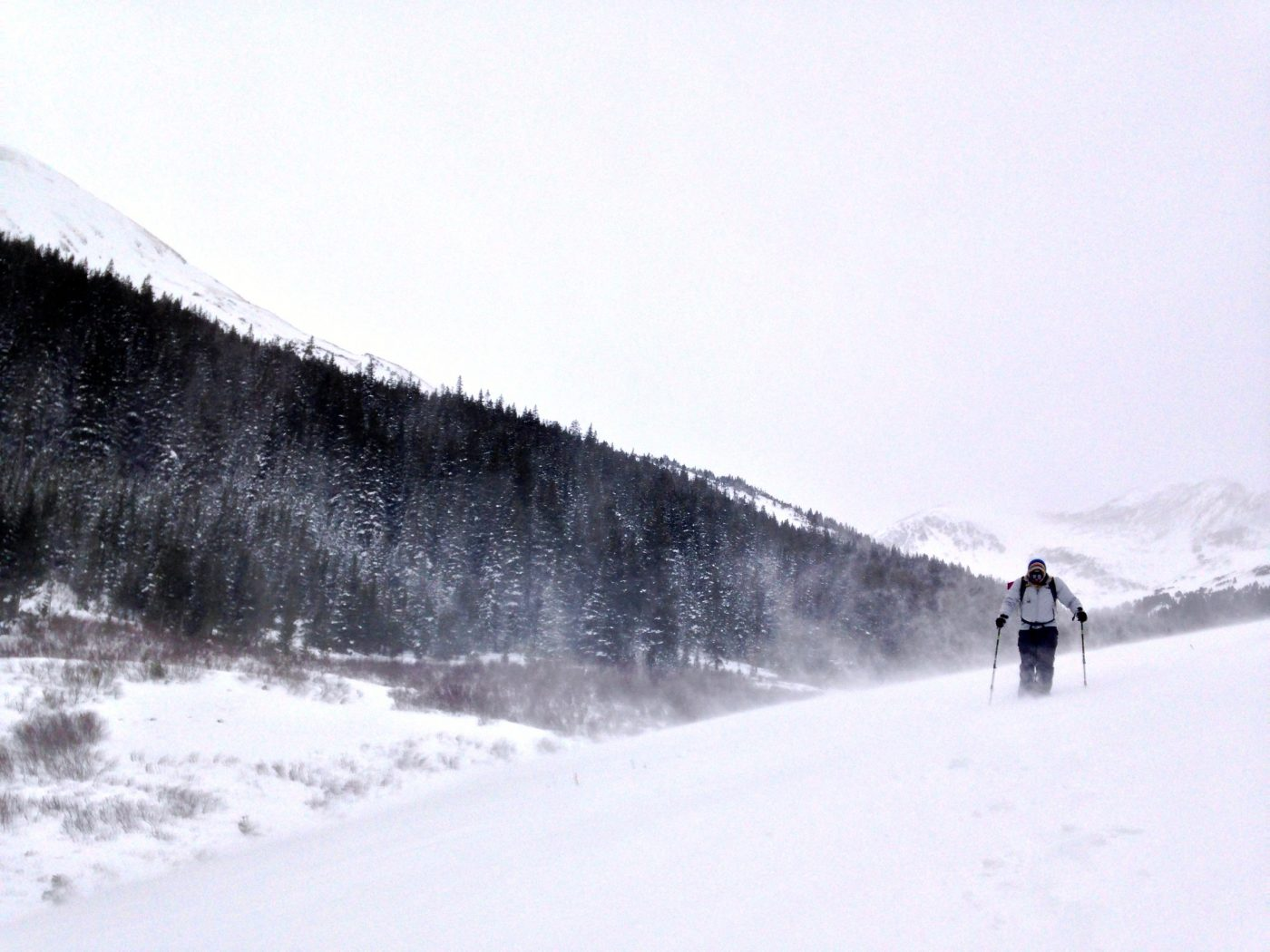 Snow Hiking and Snowshoeing