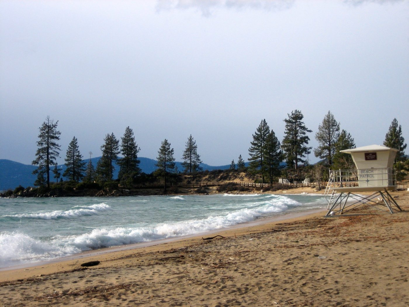 Tahoe Like a Local - vacant Beach