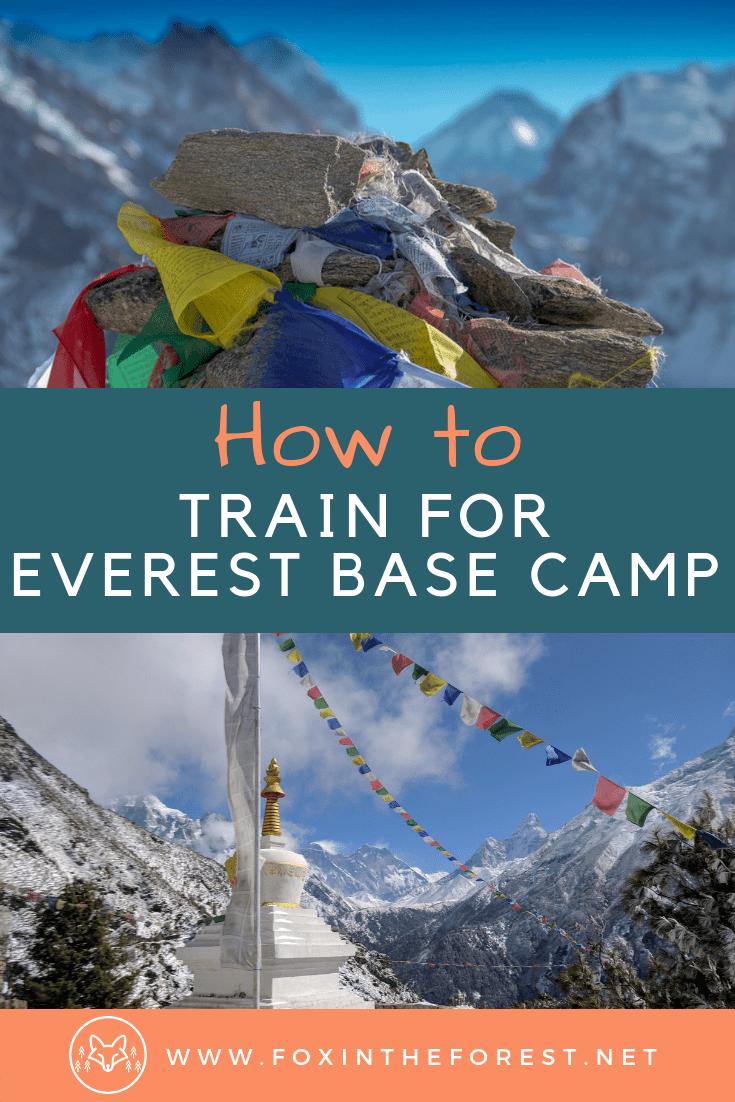 Tips for training for a trek to Everest Base Camp. How to get in shape for an Everest Base Camp Trek. How to train for trekking. Tips for training for hiking and trekking. #EverestBaseCamp #EBC #Nepal #Trekking #hiking