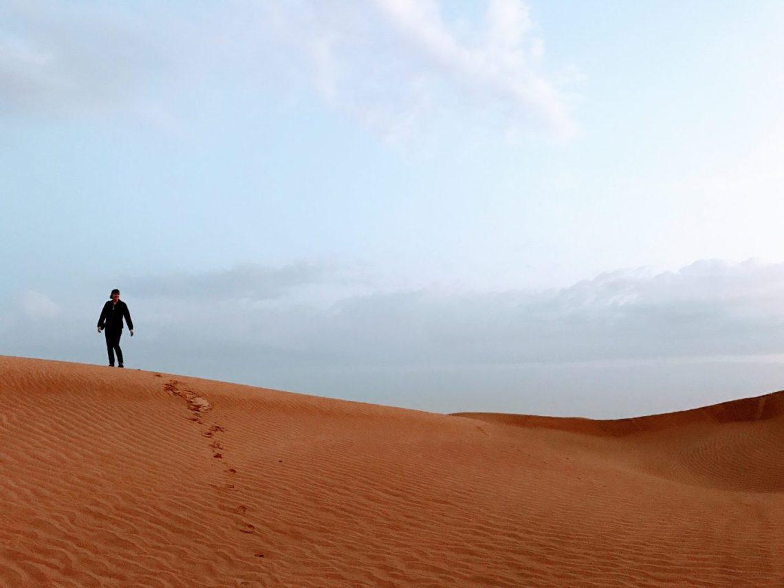 Sunrise Arabian Desert