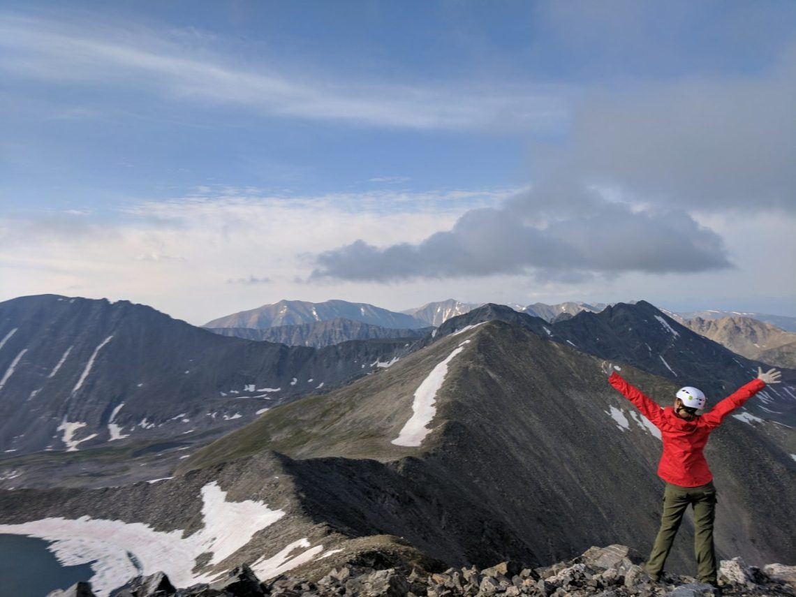 What to pack for a 14er