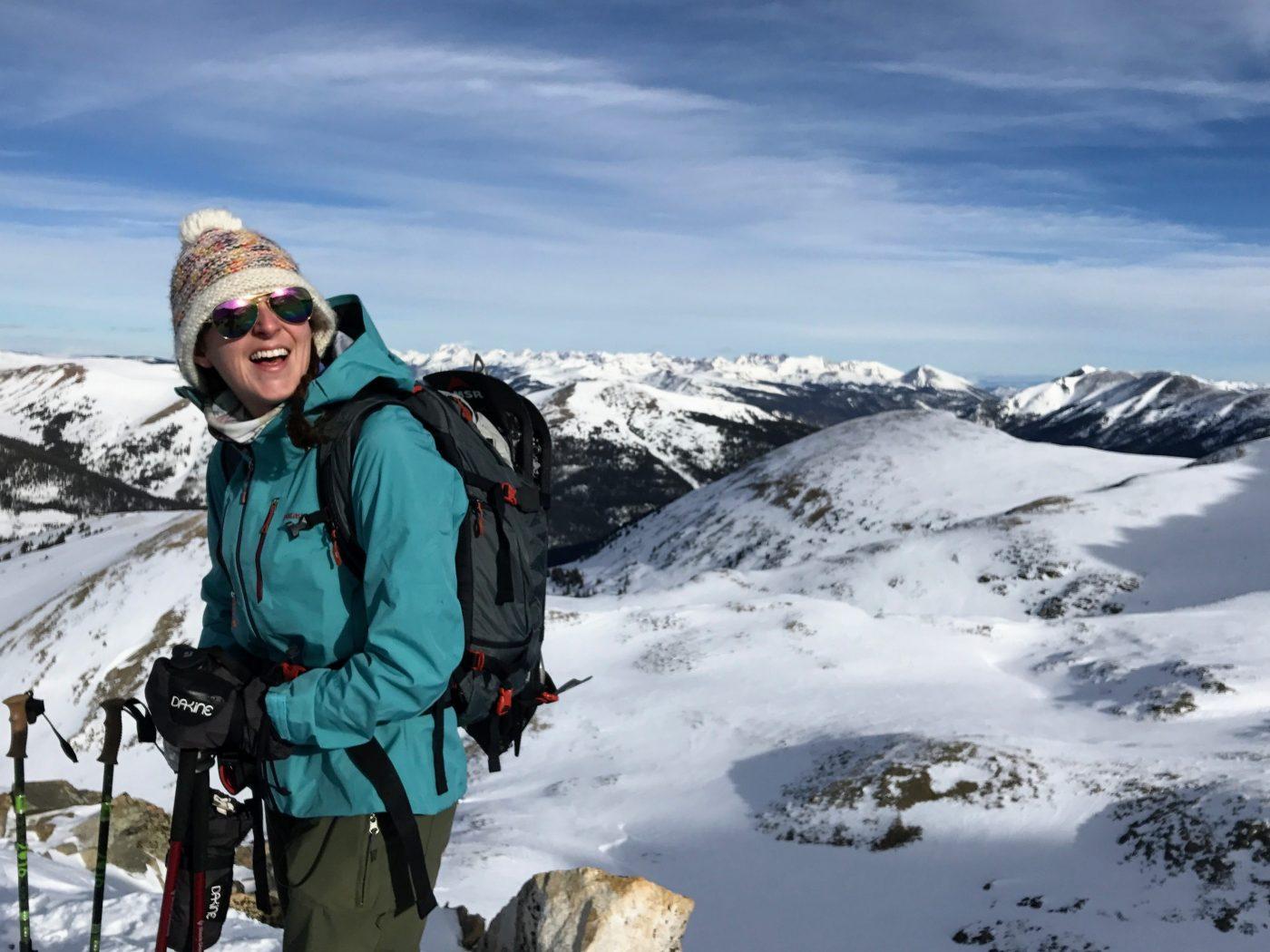 choosing a winter mountaineering pack