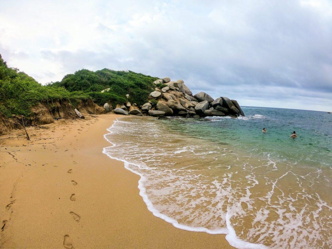 Best beach in tayrona national park