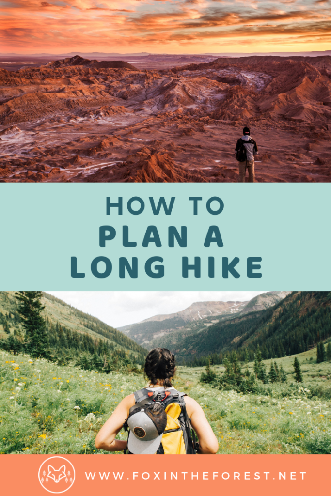 How to plan a big hike. Tips for planning a hike and finding hiking trails. How to prepare for a hike or wilderness camping trip. How to plan a backpacking trip. #hiking #camping #outdoors