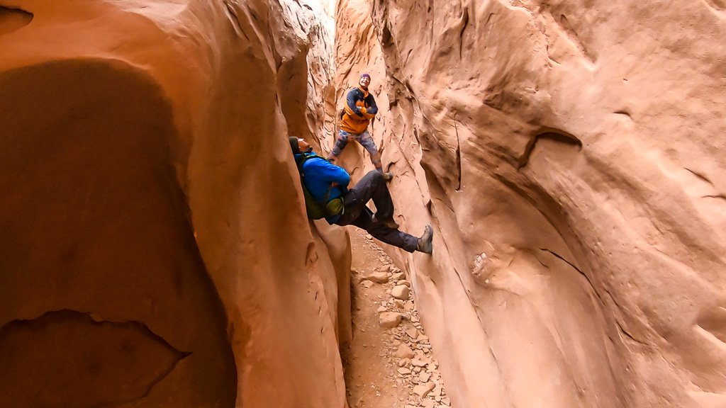 Best time to hike Little Wild Horse Canyon