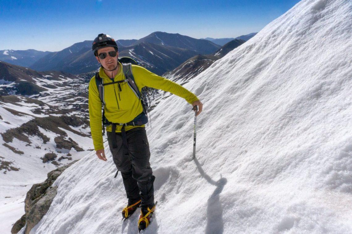 The Citadel Snow Climb