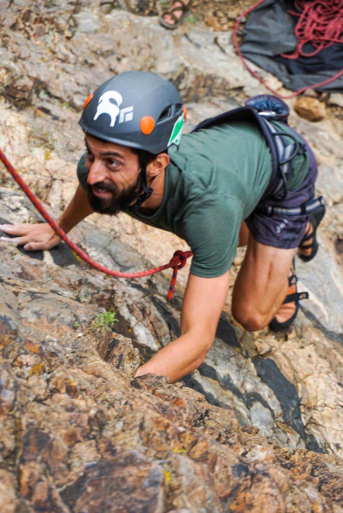 rock climbing for beginners