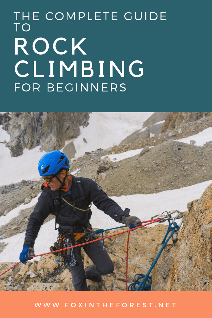 Tips and tricks for beginner rock climbers. This article is loaded with tips and tricks for climbing safely, how to inspect your climbing gear, how to purchase climbing gear, climbing terms, training for climbing, what to expect on your first climb, tips and techniques for rock climbing, how to find climbing friends and much more! #rockclimbing #outdoors #climbing