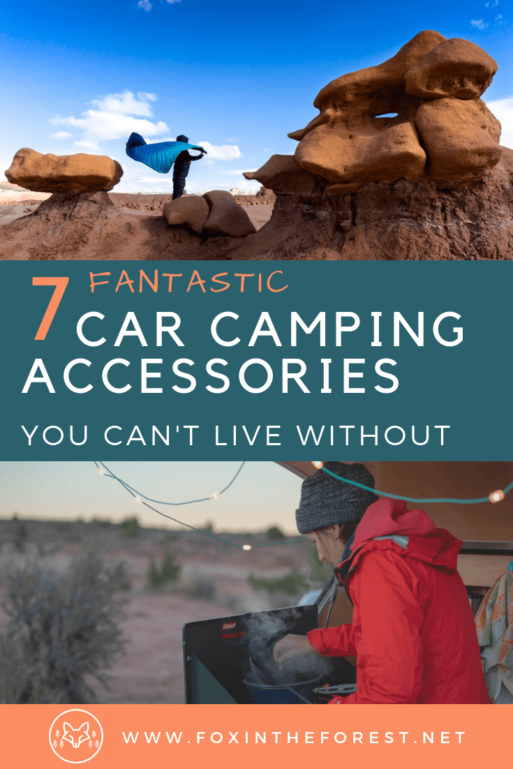 The best car camping accessories. Car camping gift ideas for the camping enthusiast. Unique gift ideas for car campers. #camping #gifts #outdoor
