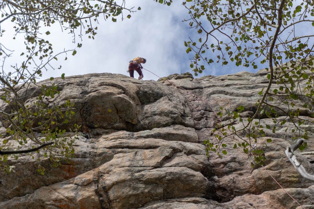 sport climbing in vedauwoo wyoming