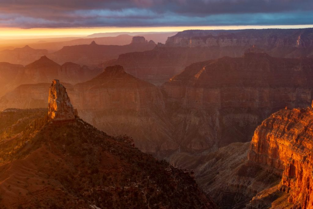 hiking the north rim of the grand canyon