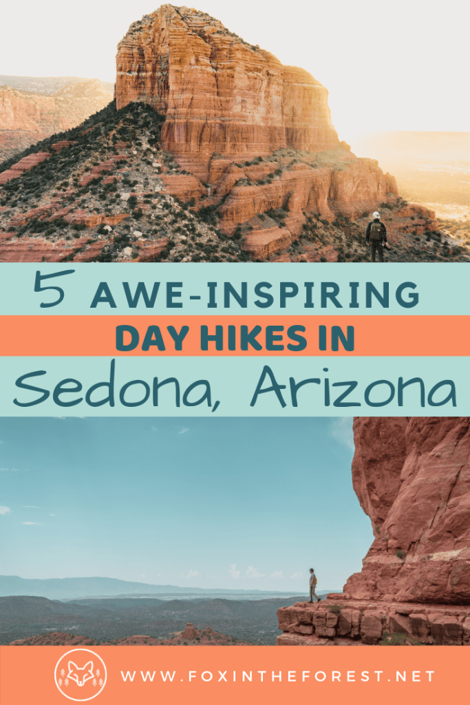 The best hikes in Sedona, Arizona. Spend the day in Sedona. Amazing sunset photography spots and Instagram-friendly hikes in Sedona, Arizona. Vortex hikes, things to do in Sedona, dog-friendly hiking trails, day trips with kids, Cathedral rock and more. #hiking #usatravel #travel #Arizona
