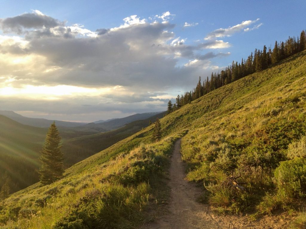 best backpacking in colorado